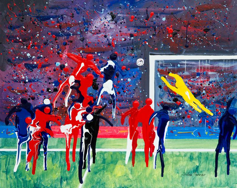 Ποδόσφαιρο και τέχνη στην Αγία Παρασκευή