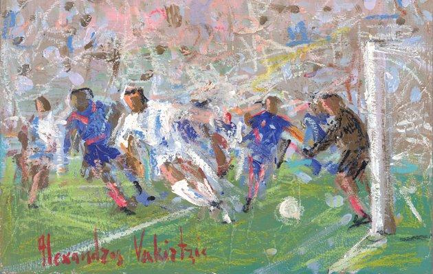 Το ποδόσφαιρο συναντά την τέχνη στο Χαλάνδρι