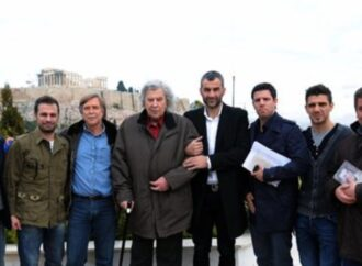 H συνάντηση-συζήτηση των άσων της μπάλας με τον Μίκη Θεοδωράκη το 2012